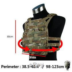 TMC Airsoft Vest JPC 2.0 Jump Plate Carrier MOLLE Maritime Ver Body Protect Army