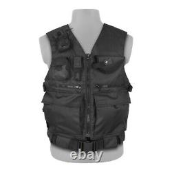 Tactical Collectors Vest Black Russian Military Field Equipment Army Paintball
