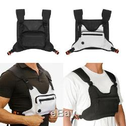 Tactical Molle Vest Pack Camping Backpack Hunting Travel Bag Chest Rig Pouch