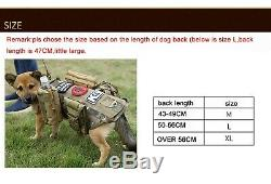 Tactical Scorpion Level IIIA 3A Dog Body Armor Canine K9 Police Vest Harness D5