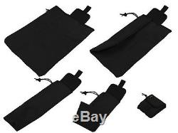 Tactical molle pals Modular paintball vest airsoft chest rig black kit 28