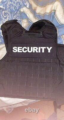 Tactical vest plate carrier with plates