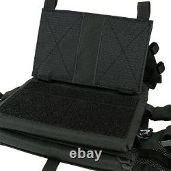 Viper Tactical VX Buckle Up Airsoft Chest Plate Carrier Rig GEN2 Black