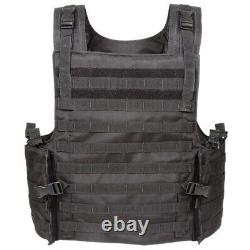 Voodoo Tactical Armor Carrier Vest Max Protection 20-8399 / Black New