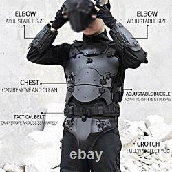 WoSporT Airsoft Vest Body Armor Vests Adjustable Tactical Molle Chest Protector