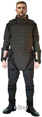 XL set Body Armor Gear Protection bulletproof Tactical vest & pads
