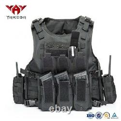 YAKEDA Molle weight Plate carrier Body Armor Tactical Vest X 10 bulk order